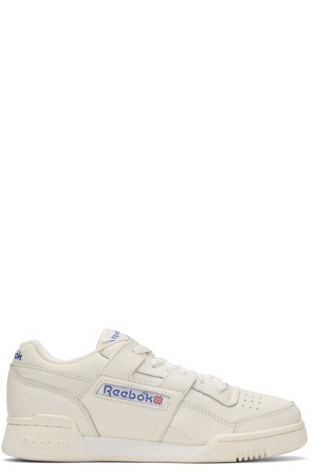 Reebok Classics Off-White Workout Plus Sneakers from SSENSE - Styhunt 0ac229490