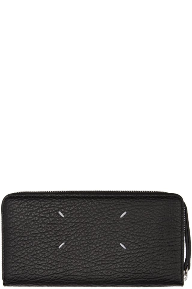 22000f77ced6 Off-White Black Logo Wallet from SSENSE - Styhunt