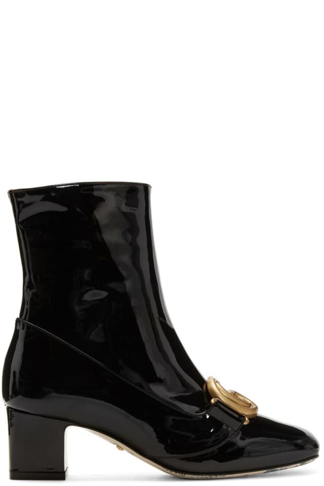 4884bd3c6 Gucci Black Dionysus Boots from SSENSE - Styhunt