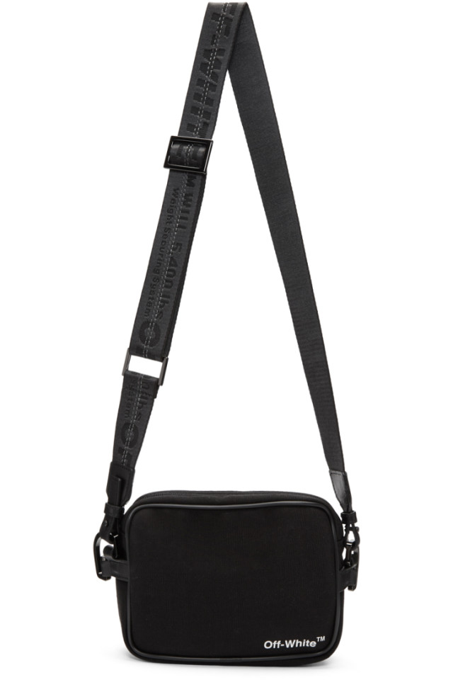 72f75d19458b Off-White Black Logo Camera Bag from SSENSE - Styhunt