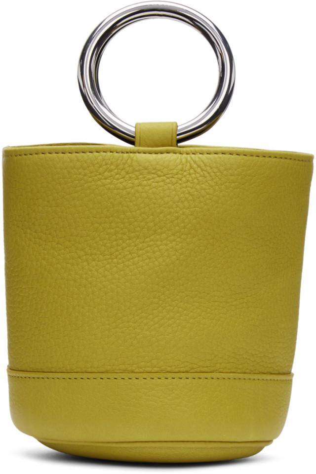 f0d08941b6c Simon Miller Yellow Bonsai 15 Bag from SSENSE - Styhunt