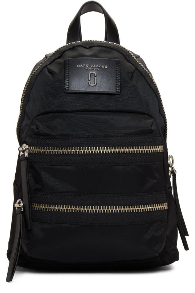 d729316be7 adidas by Stella McCartney Black Small Adizero Backpack from SSENSE ...