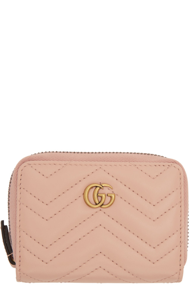 8f365b618174 Gucci Petite Marmont Zip-Around Wallet from Neiman Marcus - Styhunt