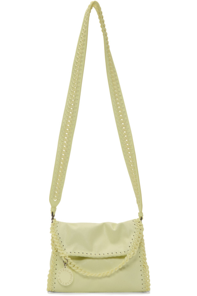 f91f751bf66fad Stella McCartney Yellow Mini Falabella Candy Shoulder Bag from ...