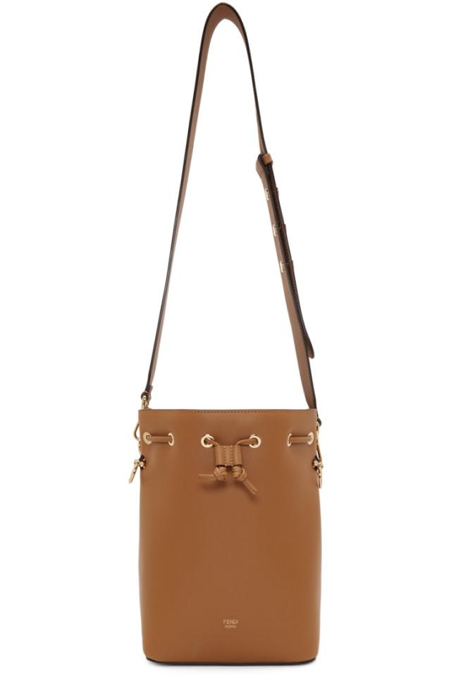 fc44f8859b1 Fendi Mon Tresor Small Leather Bucket Bag from mytheresa - Styhunt