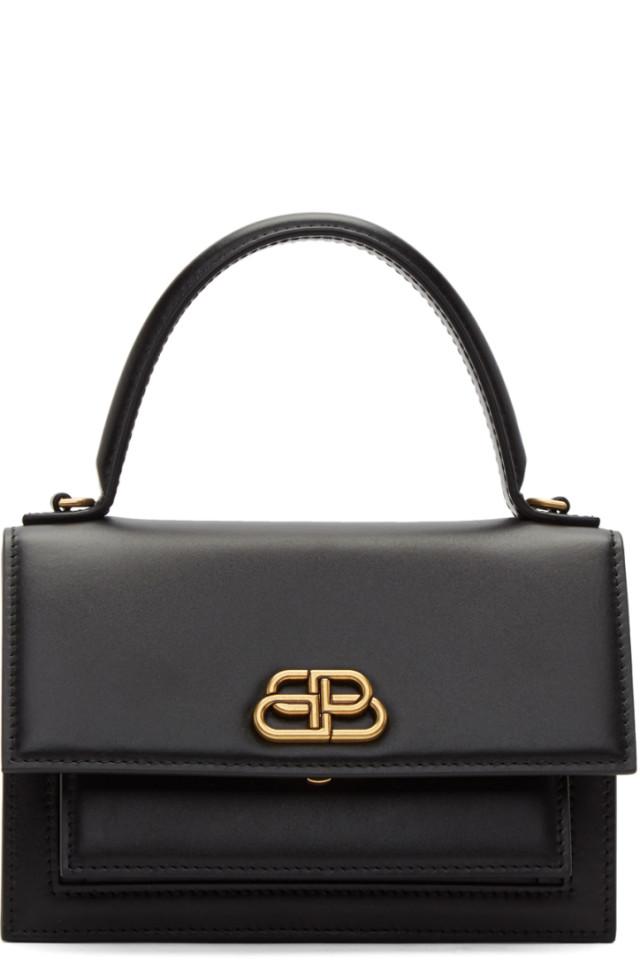 d4175192f Balenciaga Black Small Souvenir Charm Bag from SSENSE - Styhunt