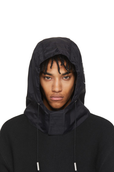 A-Cold-Wall* - SSENSE Exclusive Black Technical Nylon Hood