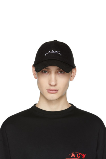 A-Cold-Wall* - SSENSE Exclusive Black Logo Cap