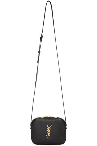 ysl crossover bag - saint laurent monogram saint laurent blogger bag in black leather