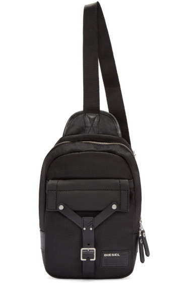 Diesel - Black Mono Crossbody Backpack