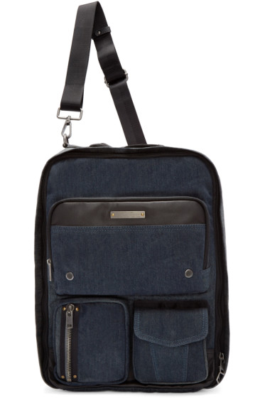 Diesel - Blue Denim Gear Backpack