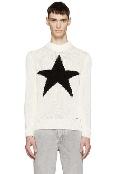 Diesel - Cream Knit K-CHAMELE Sweater