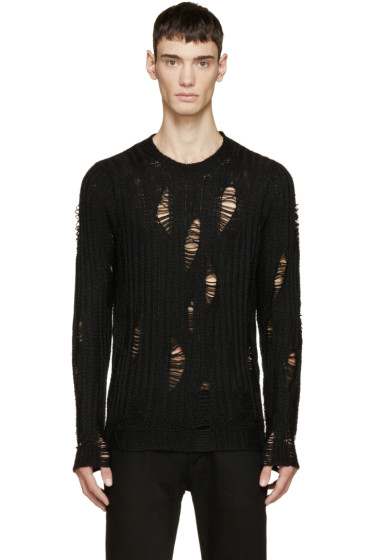 Diesel - Black K-Kaxson-A Sweater