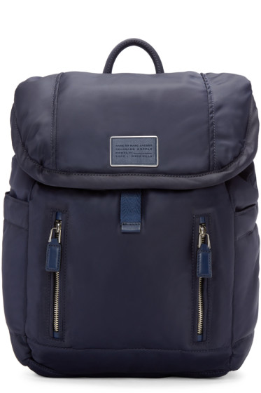 Marc by Marc Jacobs - Navy Nylon Palma Backpack