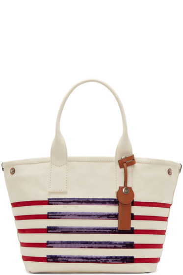 Marc by Marc Jacobs - Tricolor Striped St Tropez Beach Tote