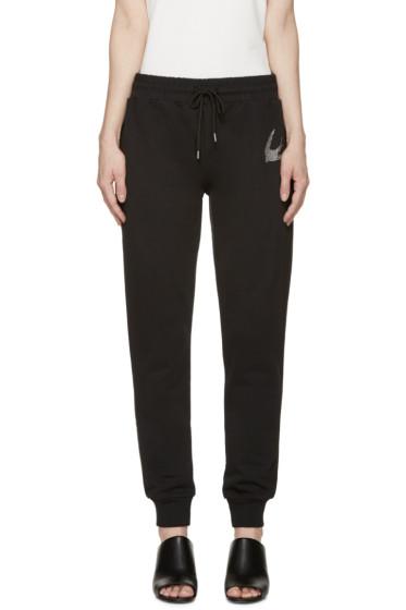 McQ Alexander Mcqueen - Black Studded Swallow Lounge Pants