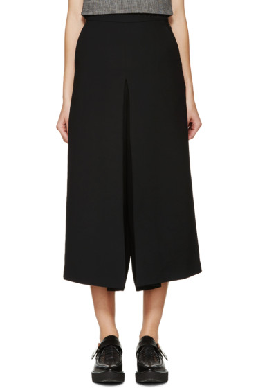 McQ Alexander Mcqueen - Black Pleated Trousers