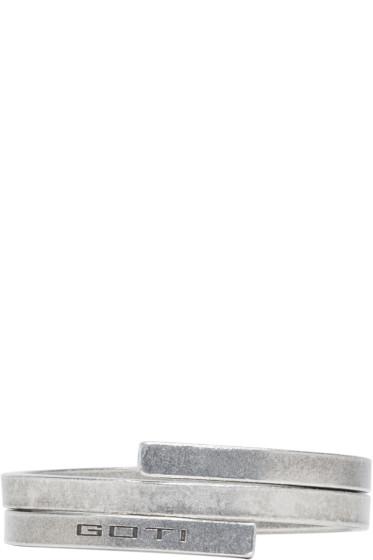 Goti - Double Silver Wrap Cuff