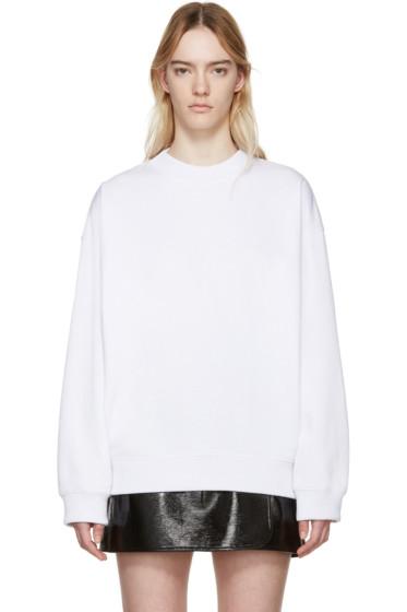 Acne Studios - White Beta Guitar Sweatshirt