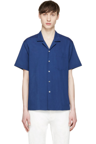 Acne Studios - Indigo Chambray Ody Pocket Shirt