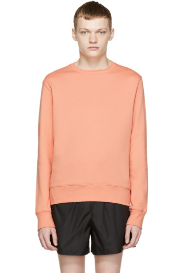 Acne Studios - Orange Casey Sweatshirt