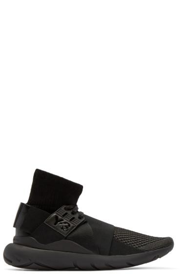 Y-3 - Black Qasa Elle High-Top Sneakers