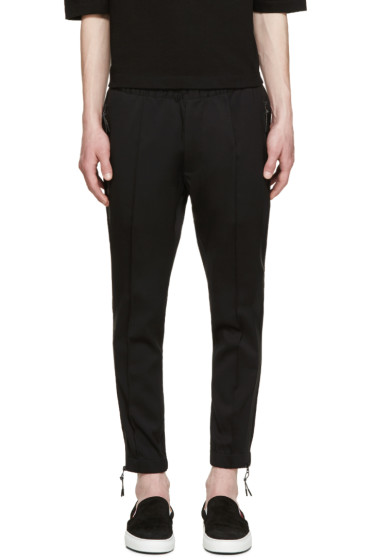 Dsquared2 - Black Wool Modern Tech Trousers