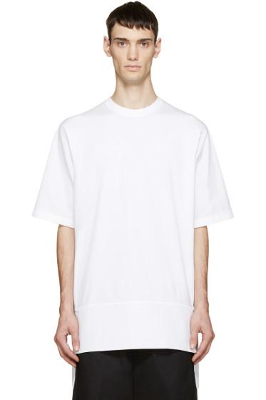 Dsquared2 - White Jersey & Poplin T-Shirt