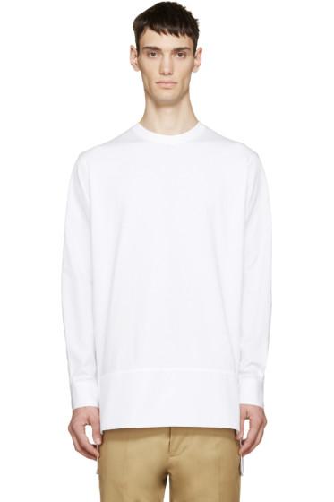 Dsquared2 - White Jersey & Poplin Shirt