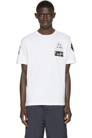 Alexander Wang - White Etching Scanner T-Shirt