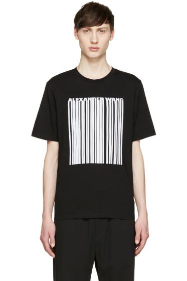 Alexander Wang - Black Barcode T-Shirt