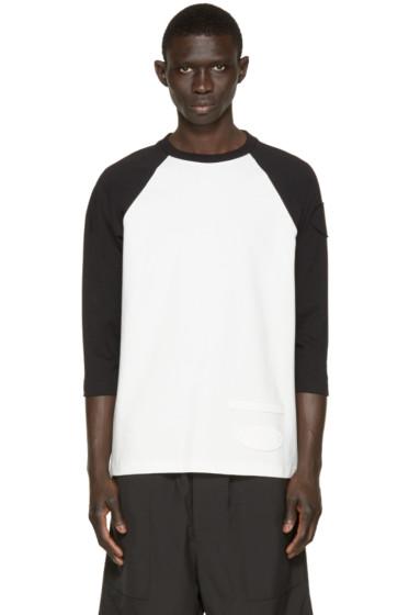 Alexander Wang - Off-White & Black Patch T-Shirt