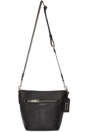 Marc Jacobs - Black Leather Gotham City Bucket Bag