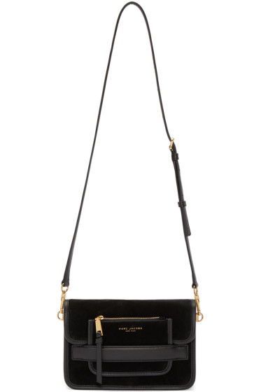 Marc Jacobs - Black Suede Medium Madison Bag