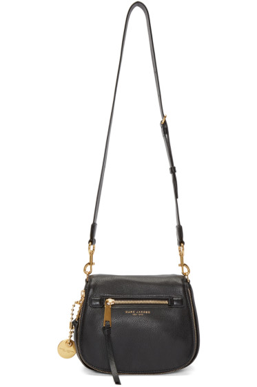 Marc Jacobs - Black Small Recruit Saddle Bag
