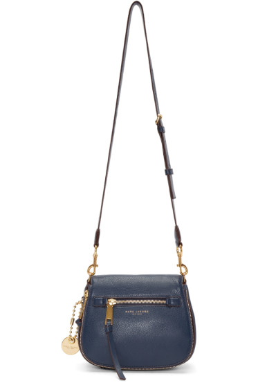 Marc Jacobs - Navy Recruit Small Saddle Bag