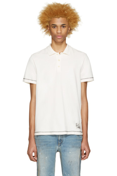 Marc Jacobs - Off-White Cotton Polo