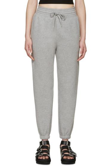 T by Alexander Wang - Grey High-Rise Lounge Pants