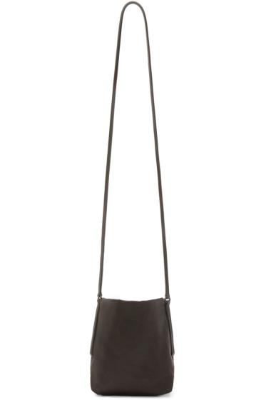 Rick Owens - Grey Small Adri Shoulder Bag