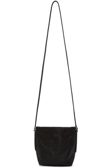 Rick Owens - Grey Leather Small Adri Bag