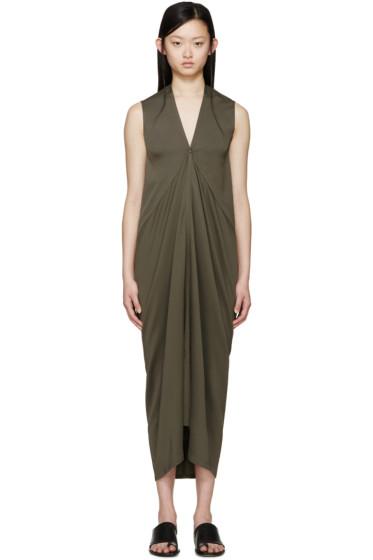 Rick Owens - Green Kite Dress