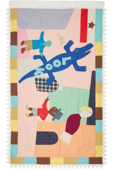 Junya Watanabe - Multicolor Patchwork Scarf