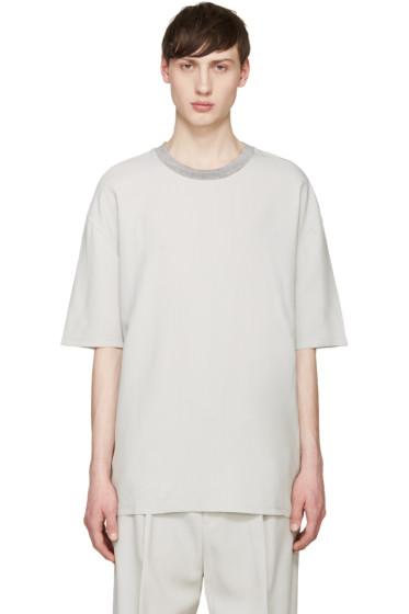 Lanvin - Grey Oversized T-Shirt