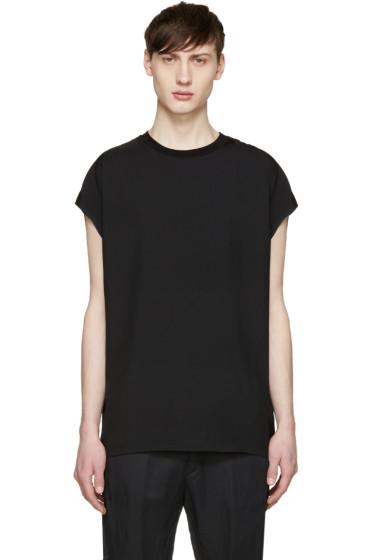 Lanvin - Black Sleeveless T-Shirt