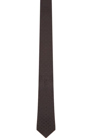 Alexander McQueen - Black Spotted Tie