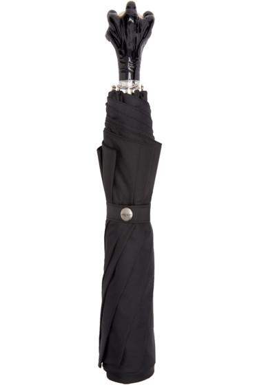 Alexander McQueen - Black Claw Handle Umbrella