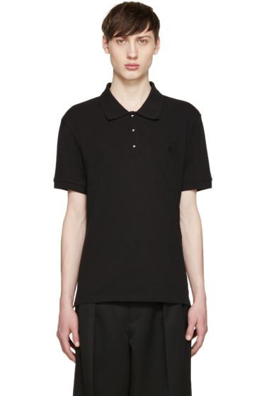Alexander McQueen - Black Studded Polo