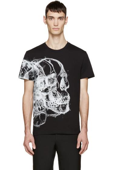 Alexander McQueen - Black Best Skulls T-Shirt