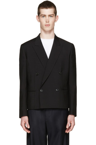 Paul Smith - Black Double-Breasted Blazer