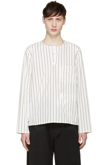 Opening Ceremony - White Pinstriped Tunic